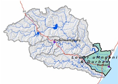 The South African State of Rivers Report uMngeni River and